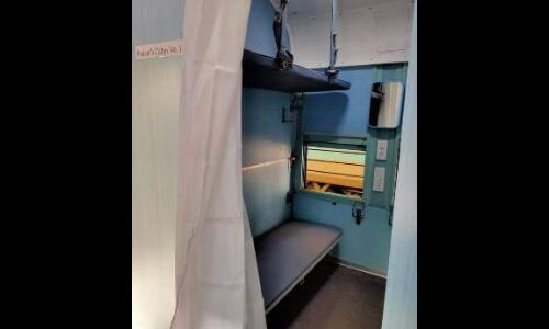 रेलवे  कोरोना संक्रमितों के लिए तैयार कर रहा है आइसोलेशन कोच