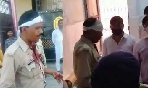 कन्नौज की जामा मस्जिद में जुटे नमाजियों को हटाने गई पुलिस पर हमला, कई घायल