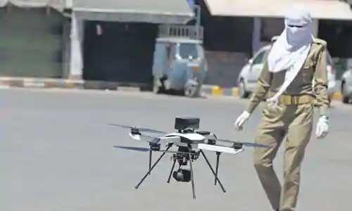 उप्र में 15 जिलों की सीमाएं सील, ड्रोन से होगी निगरानी