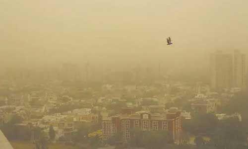 दिल्ली की हवा में मिला प्रदूषण, पीएम 10 कणों की मात्रा मानक से दोगुना