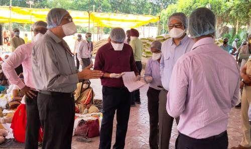 इंदौर : दिल्ली से आये दल ने तैयारियों का जायजा लिया
