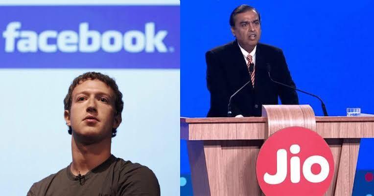 फेसबुक ₹ 43,574 करोड़ का जियो में करेगा निवेश, भारत में माइनॉरिटी इन्वेस्टमेंट का सबसे बड़ा कदम