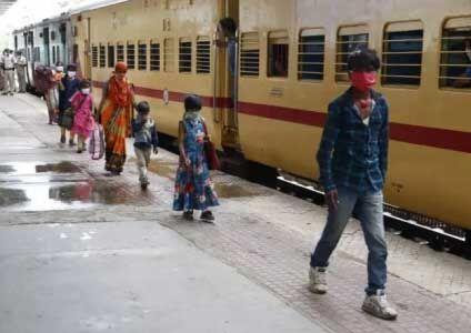 अब ट्रेन में 1200 की बजाए अब 1700 श्रमिक कर सकेंगे यात्रा