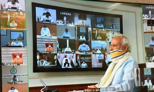 लॉकडाउन बढ़े या खत्म हो, PM मोदी ने मुख्यमंत्रियों के साथ किया महामंथन