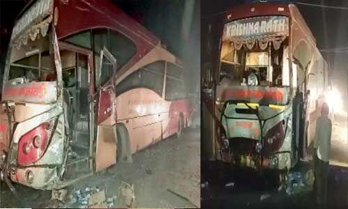 बिहार : हाईवोल्टेज बिजली के तार की चपेट में आई बस, 6 यात्री घायल