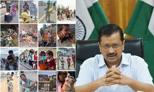 दिल्ली के प्रवासी मजदूरों की जिम्मेदारी हमारी : अरविंद केजरीवाल
