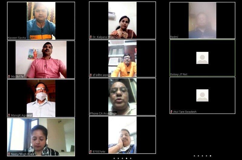 स्वदेशी, स्वावलंबन और आत्मनिर्भरता को लेकर स्वदेश की ऑनलाइन संगोष्ठी