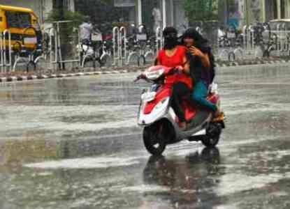 ग्वालियर अंचल में प्री मानसून की दस्तक, बारिश ने दी भीषण गर्मी से राहत