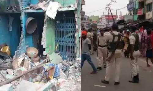 बिहार : घर में हुआ विस्फोट, सो रहे मां-बेटे की मौत