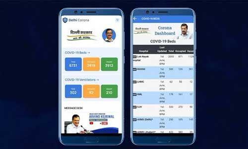 दिल्ली में यह एप्प बताएगा अस्पतालों में कितने बेड और वेंटिलेटर हैं खाली : अरविंद केजरीवाल