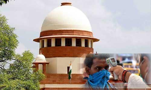 SC से यूपी सरकार ने कहा - दिल्ली में कोरोना के मामलों की वजह से आवाजाही पर रोक