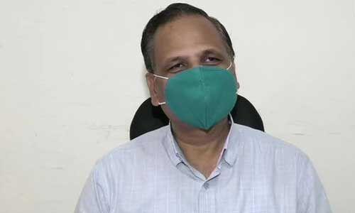सत्येंद्र जैन ने कहा - दिल्ली में 10-15 दिनों तक मरीजों की संख्या और बढ़ने की संभावना