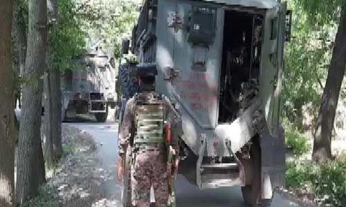 शोपियां में अंसार गजवाटुल हिंद आतंकी संगठन का आतंकी ठिकाना ध्वस्त