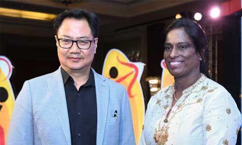 रिजिजू और युवराज ने दी पीटी उषा को जन्मदिन की बधाई