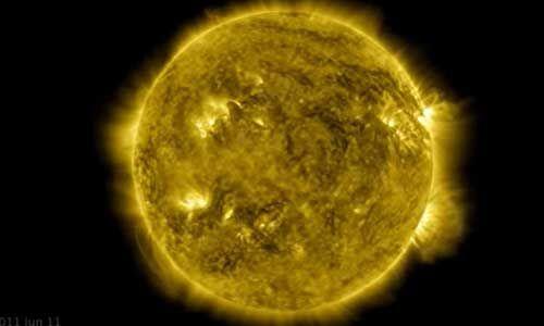 नासा ने पिछले एक दशक में सूरज की 42.5 करोड़ तस्वीरें ली