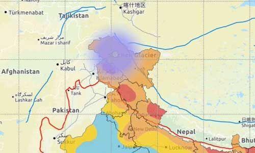जम्मू-कश्मीर : करगिल में सुबह-सुबह 4.7 की तीव्रता का भूकंप