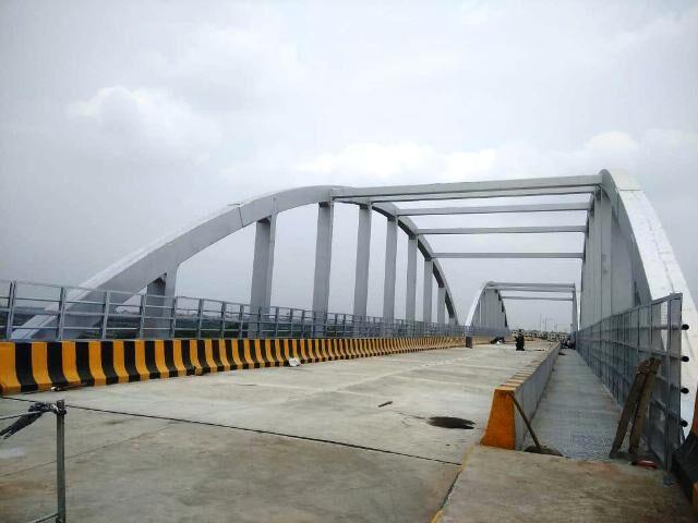ट्रिपल आईटीएम से मलगढ़ा के बीच रेलवे ओवर ब्रिज बनकर तैयार