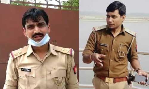 कानपुर मामला : चौबेपुर के पूर्व थानाध्यक्ष विनय तिवारी और बीट प्रभारी केके शर्मा गिरफ्तार
