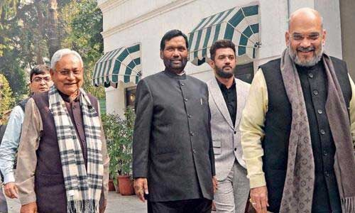 बिहार एनडीए में नहीं चलेगा लोकसभा चुनाव का फार्मूला