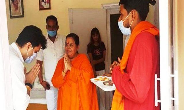 सिंधिया अपने नाम की तरह पूरे देश में जगमगाएंगे : उमा भारती