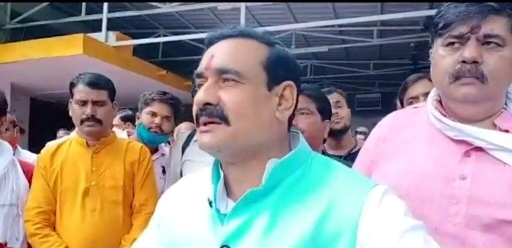 कमलनाथ पर कांग्रेस विधायकों को कभी भरोसा नहीं रहा : गृहमंत्री मिश्रा