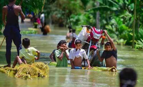 बिहार : बाढ़ग्रस्त इलाकों के प्रभावित परिवारों को सरकार देगी मुआवजा, सूची तैयार करने के निर्देश