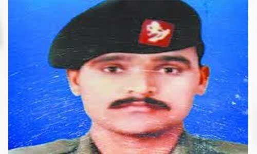 युद्ध के मोर्चे पर दुश्मन के छक्के छुड़ाये थे शहीद राजेन्द्र यादव