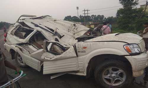 बेगूसराय में सड़क हादसे में पांच लोगों की मौत