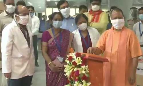 सीएम योगी ने जनता को समर्पित किया नोएडा का कोविड-19 अस्पताल
