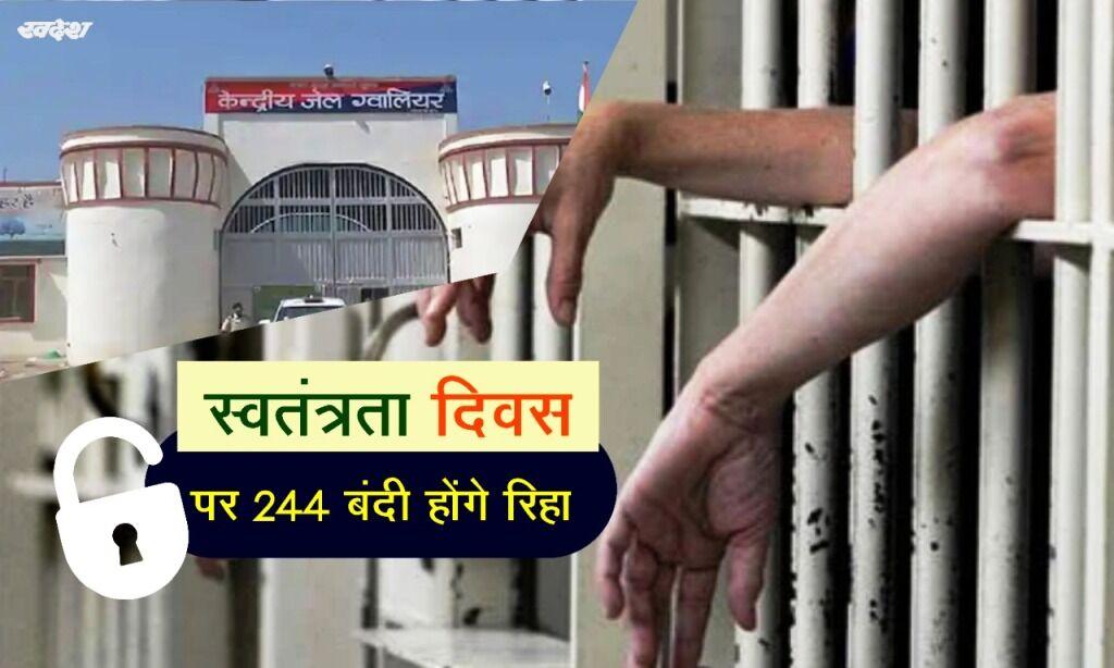 स्वतंत्रता दिवस पर 244 बंदी होंगे रिहा : मंत्री डॉ. मिश्रा