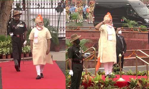 स्वतंत्रता दिवस पर प्रधानमंत्री नरेंद्र मोदी द्वारा पहने ये खूबसूरत साफे, देखें