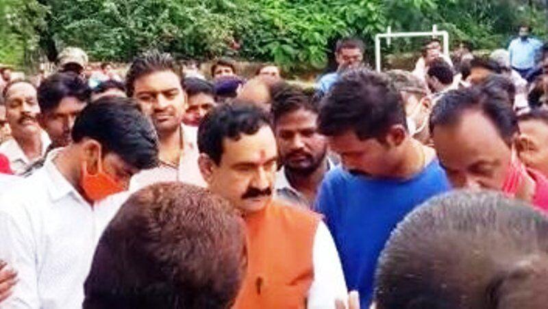 गृहमंत्री डॉ मिश्रा ने विभिन्न निर्माण कार्यों की दी सौगात