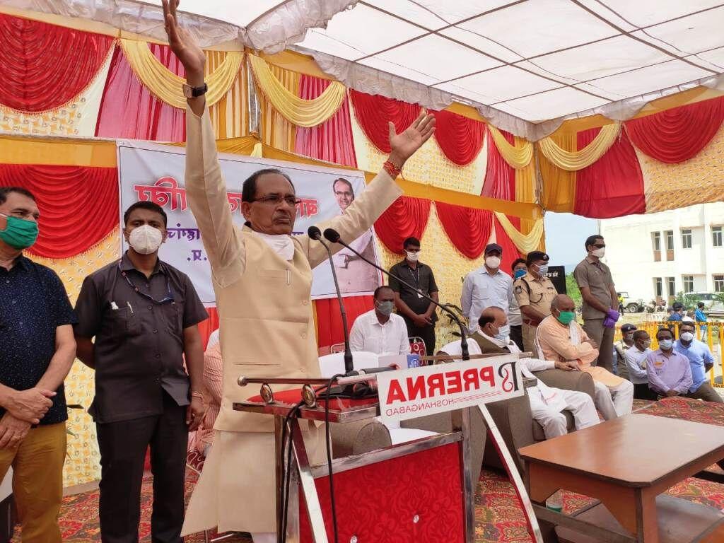 कमलनाथ ने किसानों को डिफाल्टर बनाकर ब्याज का बोझ लाद दिया : शिवराज सिंह