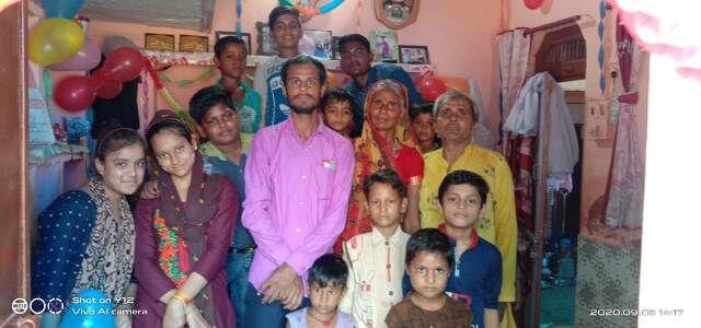 माता पिता के साथ मनाया शिक्षक दिवस