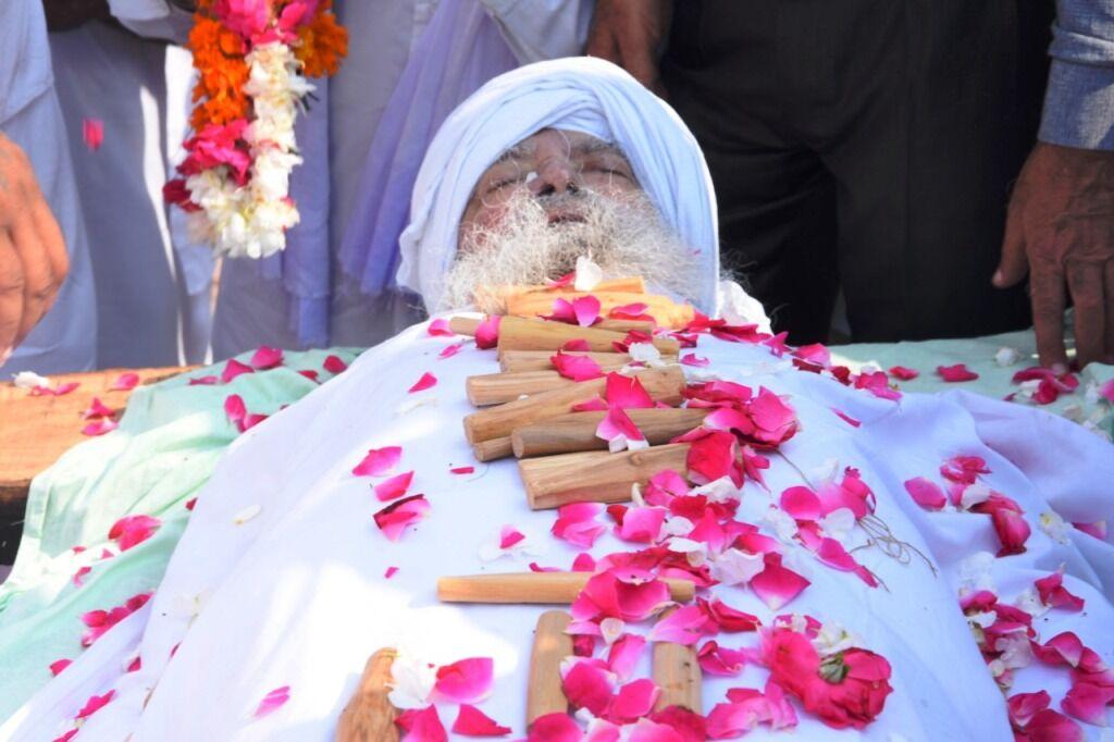 बाबा प्रीतम सिंह का हुआ अंतिम संस्कार