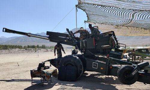 बोफोर्स तोप से चीन पर निशाना साधने को तैयार भारतीय सेना
