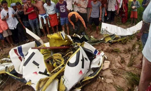 उत्तर प्रदेश : आजमगढ़ में एयरक्राफ्ट क्रैश, एक की मौत