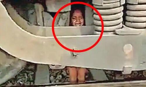 रेलवे ट्रैक पर मालगाड़ी के लोको पायलट की सूझबूझ से एक मासूम की जान बाल-बाल बची