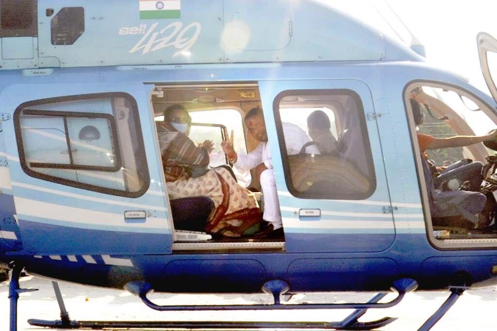 मप्र उपचुनाव : इस विधानसभा सीट पर बगावत के डर से कमलनाथ ने हेलीकॉप्टर भेज इनको बुलाया भोपाल