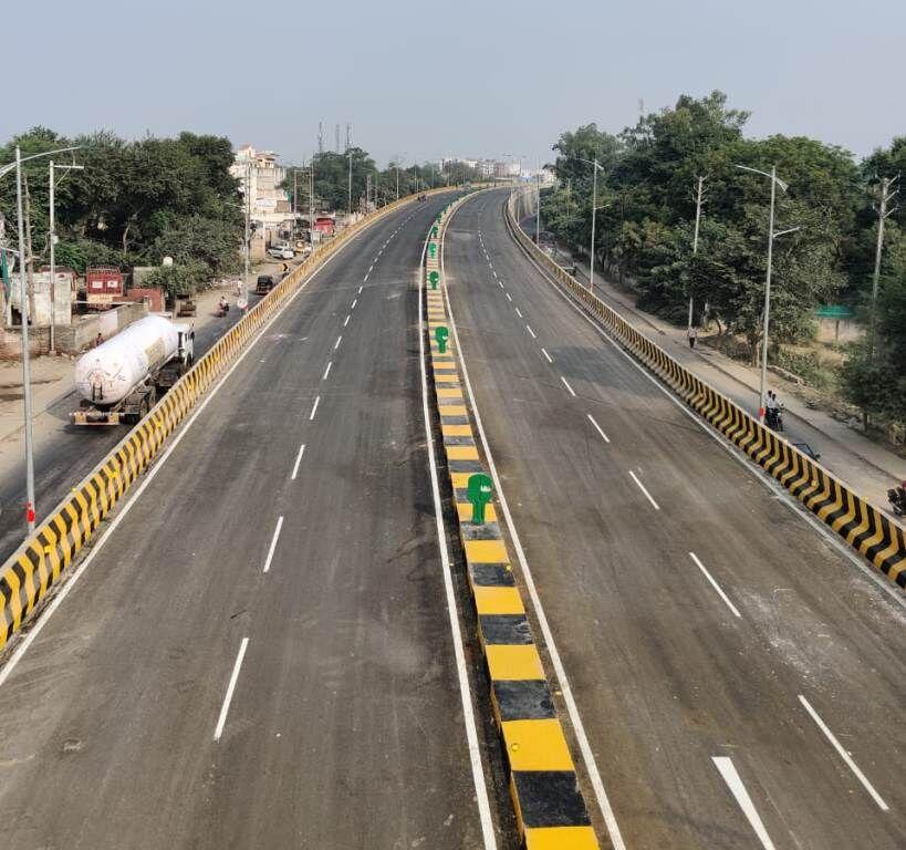 मुरैना में बैरियर के जाम से मिलेगी मुक्ति, नए पुल का उद्घाटन कल