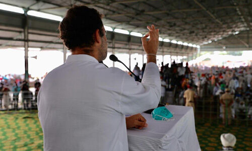 सत्ता में आते ही कांग्रेस पार्टी कृषि बिलों को खत्म कर देगी : राहुल गांधी