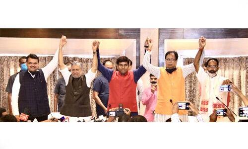 बिहार विधानसभा चुनाव : मुकेश सहनी की वीआईपी को बीजेपी ने अपने कोटे से दी 11 सीटें