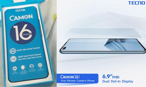 भारत में 10 अक्टूबर को लॉन्च होगा Tecno Camon 16, यहां पढ़ें डिटेल्स