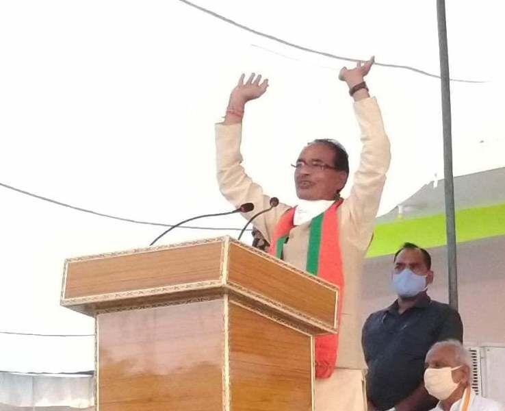 मुख्यमंत्री ने सोनिया गांधी से की मांग, कमलनाथ पर कार्रवाई करें