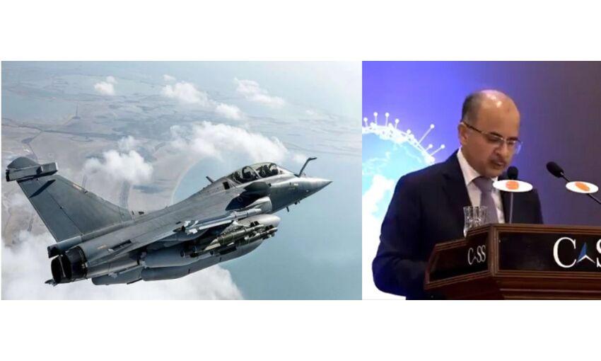पाकिस्तानी वायुसेना में भारत का खौफ, एयर मार्शल बोले - राफेल से जल्द हमला कर सकता है भारत