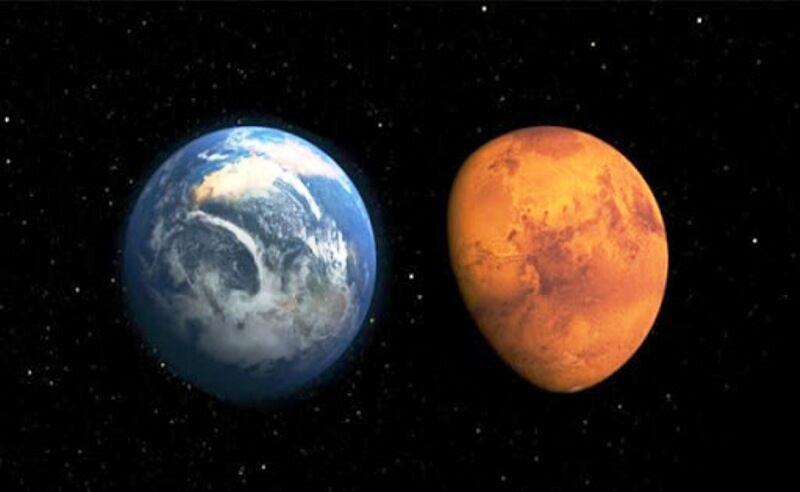 मंगल को पृथ्वी के नजदीक आएगा मंगल, खाली आंखों से पूर्व दिशा में देगा दिखाई