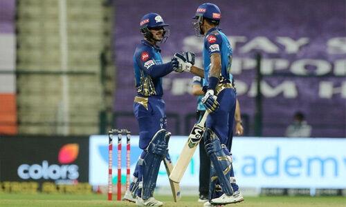 #IPL2020 : मुंबई ने कोलकाता को 8 विकेट से हराया
