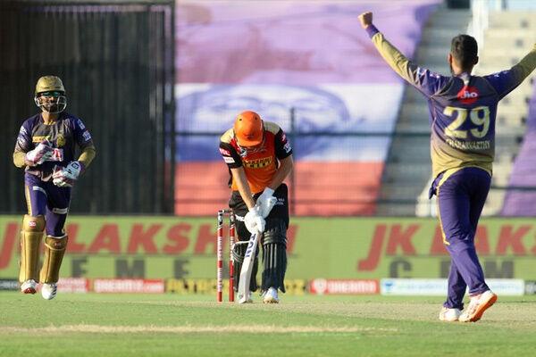 सुपर ओवर में कोलकाता नाइट राइडर्स ने सनराइजर्स हैदराबाद को हराया