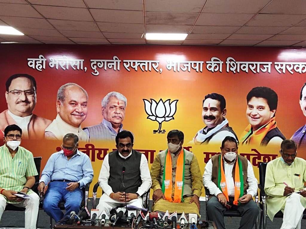 देश में कांग्रेस इकलौती पार्टी, जिसने जनता के साथ गद्दारी की: राकेश सिंह    -