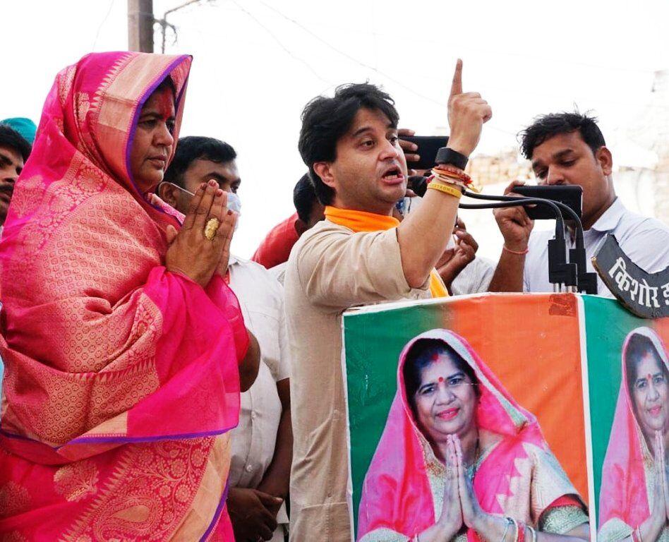 मेरी लड़ाई भ्रष्टाचार से है, मैंने ऐसा करने वालों को सड़क पर ला दिया : सिंधिया